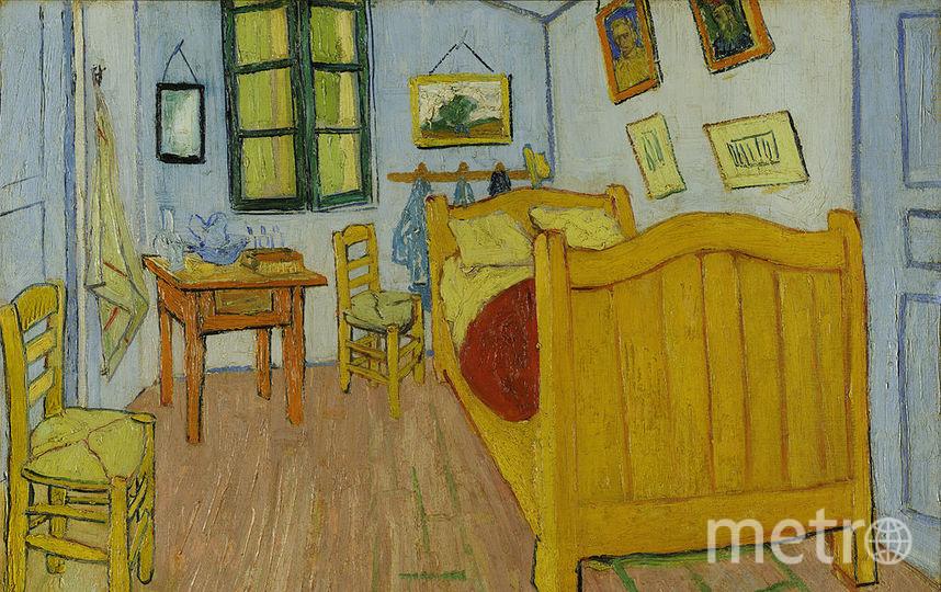 """Картина Ван Гога """"Спальня в Арле""""."""