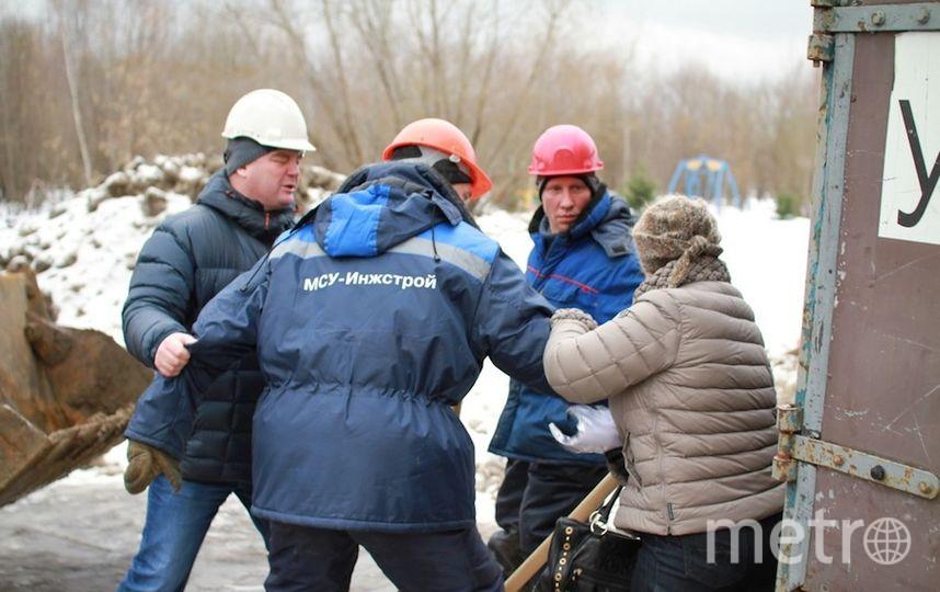 """Общественное движение """"За раменский парк""""."""