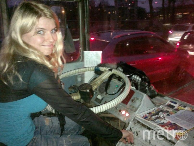 предоставлено водителем троллейбуса.