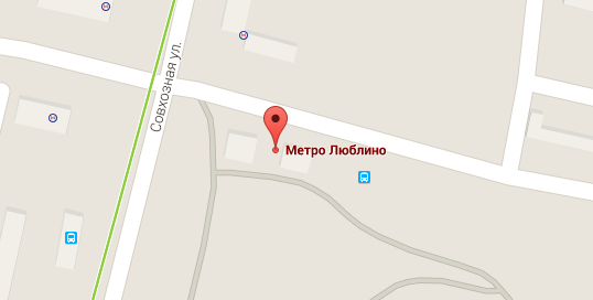 сервис Яндекс-карты.