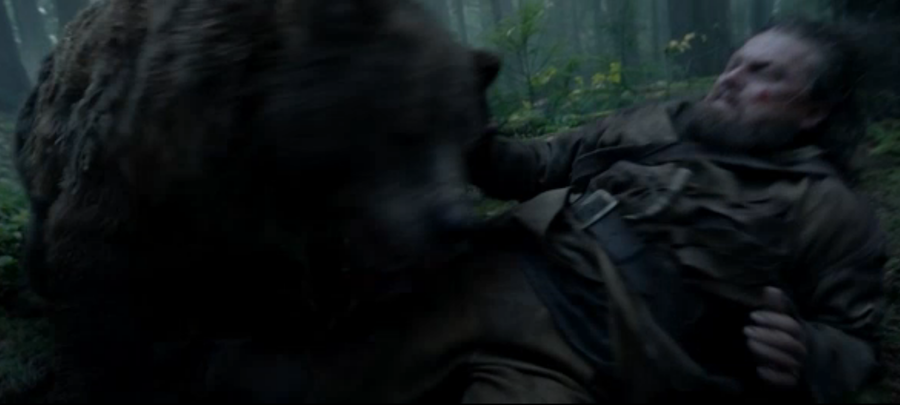 """Скрин с официального трейлера фильма """"Выживший""""."""