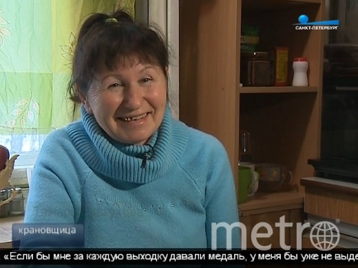 """Скриншот сюжета телеканала """"Санкт-Петербург""""."""