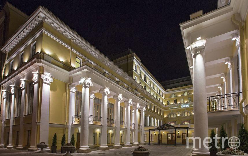 Официальная гостиница Эрмитажа.
