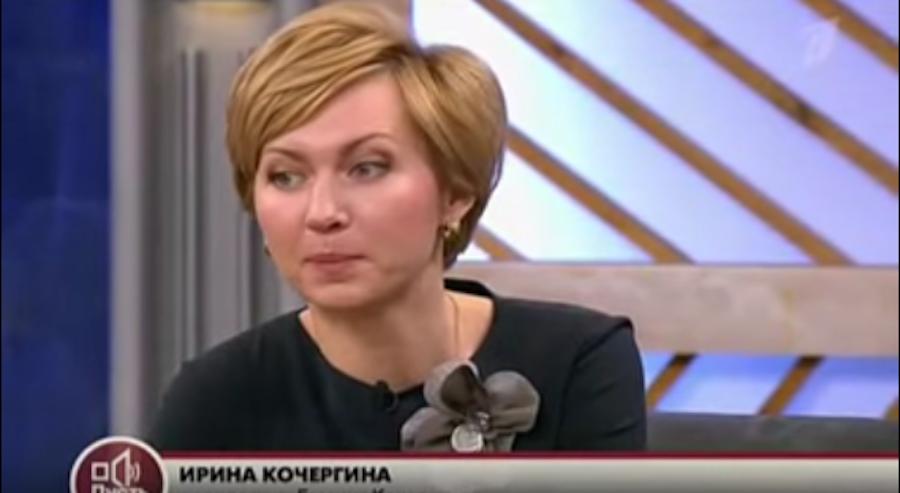 """Скриншот с передачи Первого канала """"Пусть говорят""""."""