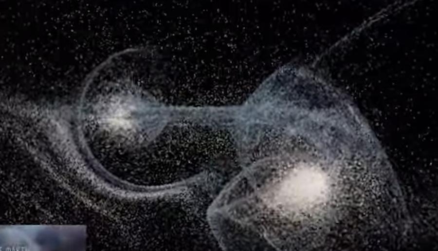 Скриншот с видео Роскосмоса.