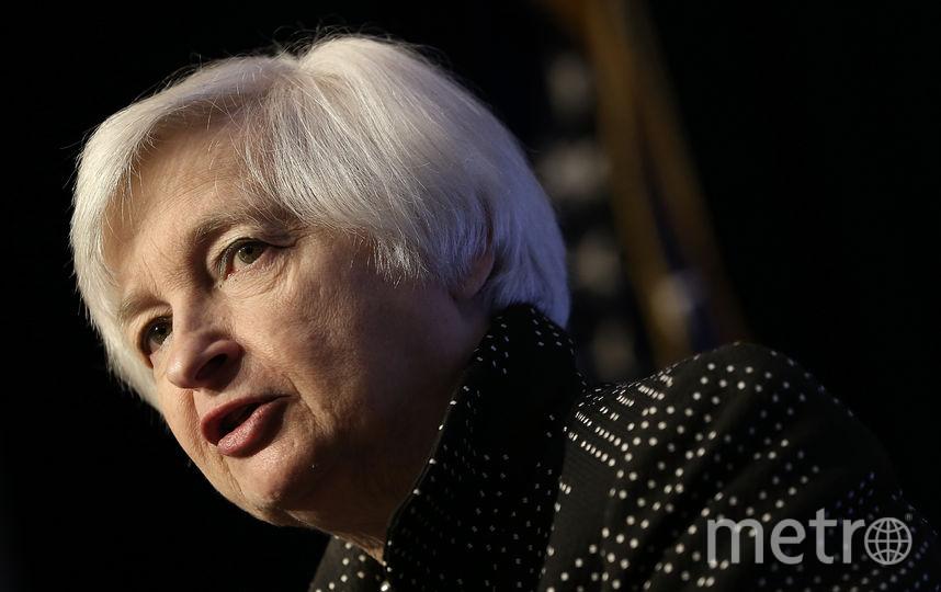 Джанет Йеллен, глава ФРС / Getty.