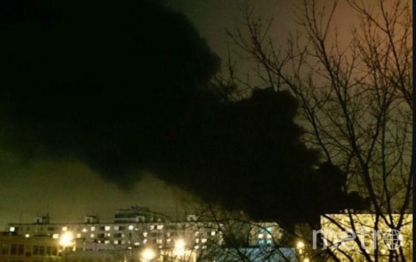 почему фото пожара на заводе в тушино одной