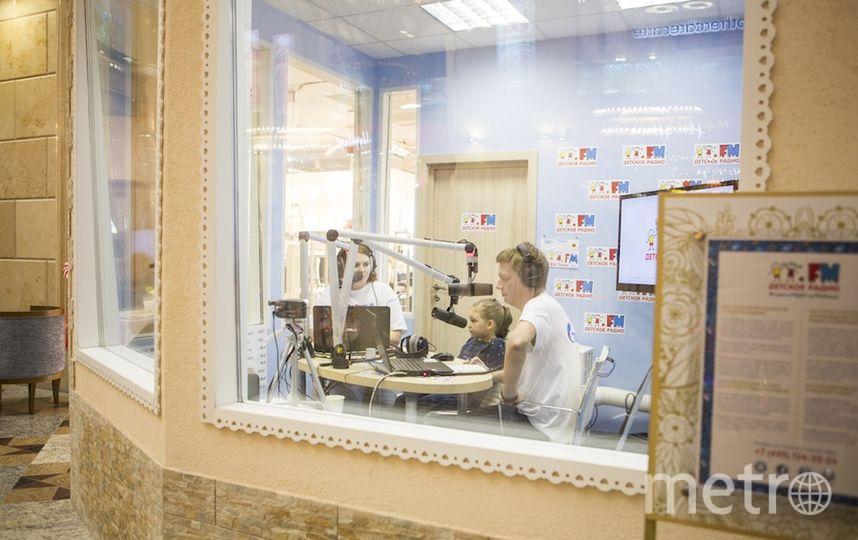 """предоставлено пресс-службой """"Детского радио""""."""