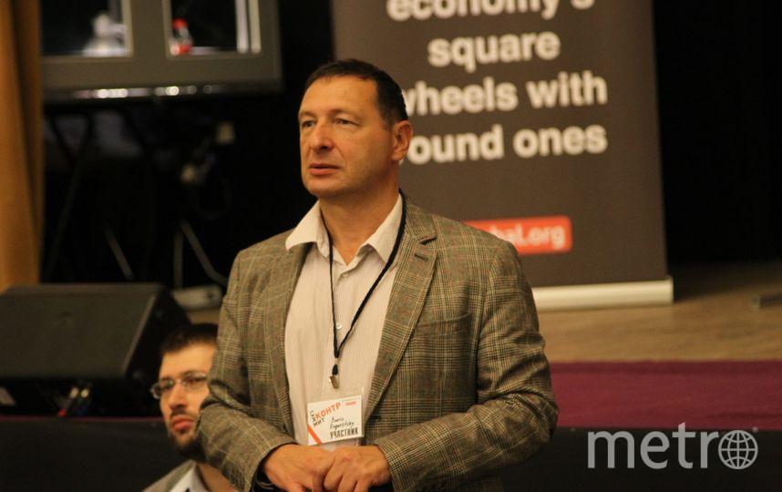 Борис Кагарлицкий / фото со страницы в Facebooo - Postglobalization Initiative.