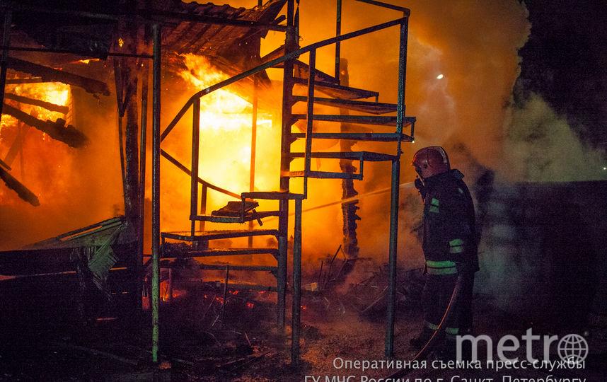 Пресс-служба ГУ МЧС России по Санкт-Петербургу.