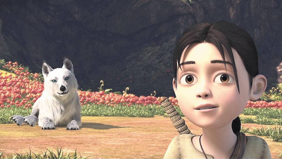 кадр из мультфильма.