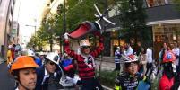 В Японии прошли офисные гонки