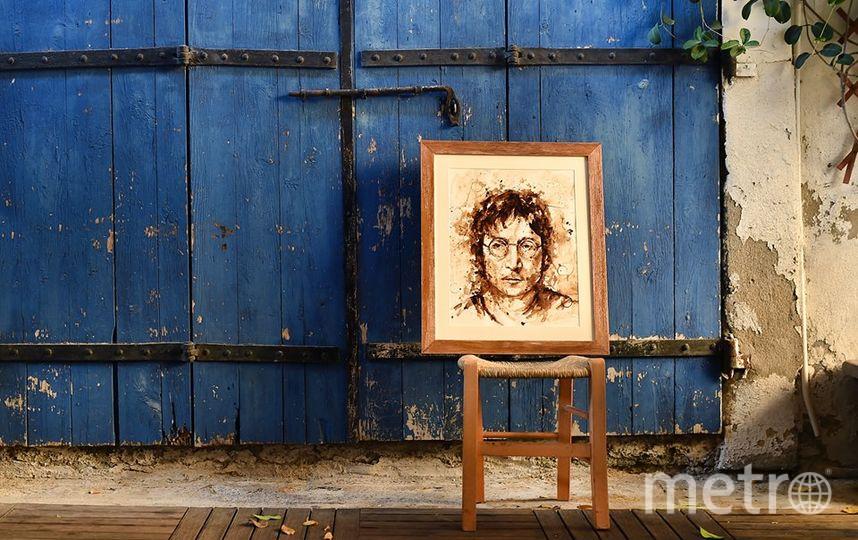 Прославилась Мария своими кофейными картинами.