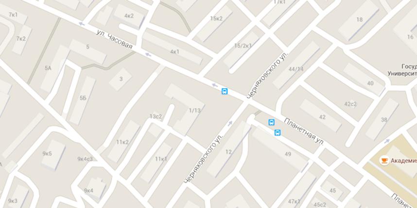 Скриншот google-maps.