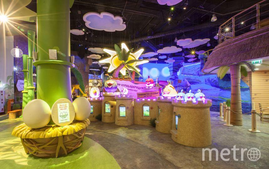 Angry Birds Activity Park.
