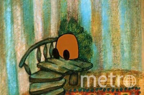 """скриншот из мультфильма """"Винни-Пух"""" ."""