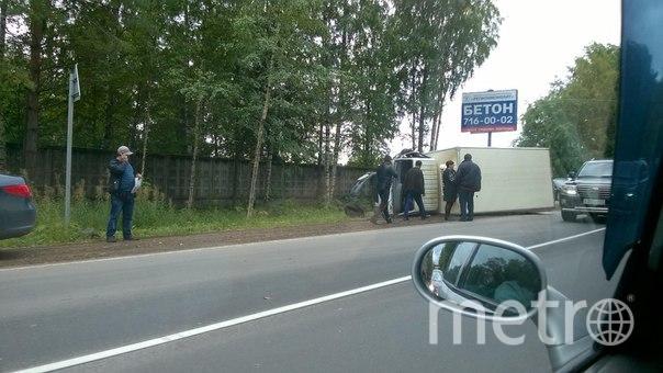 поворот на Щеглово.