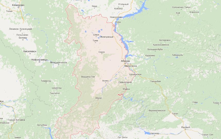 Скриншот с google maps.