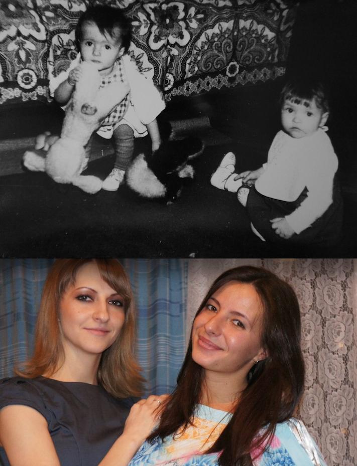 Татьяна и её подруга Злата.