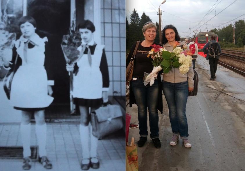 Татьяна и её подруга Наталья.