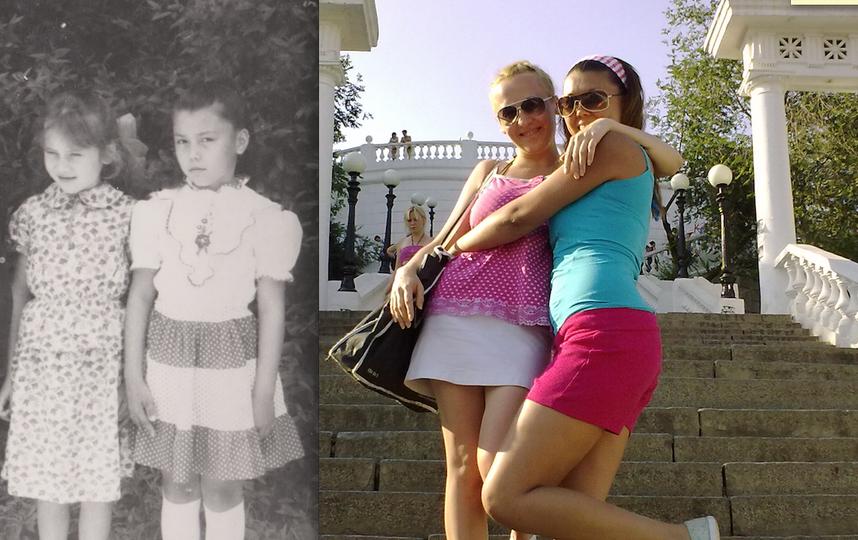 Юлия и её подруга Юленька.