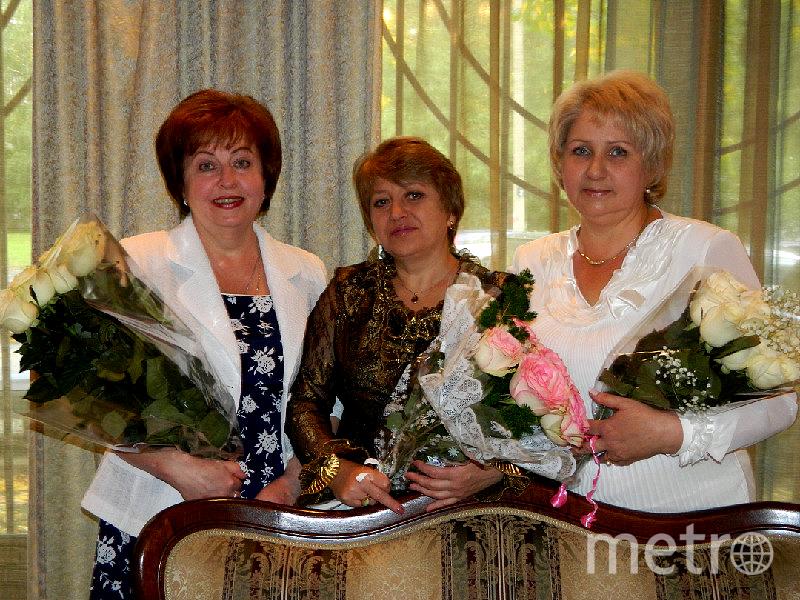 Татьяна и её подруги Раиса и Ирина.