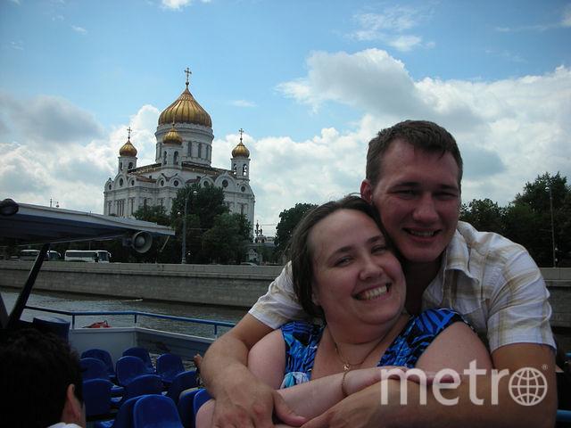 Екатерина и её друг Михаил.