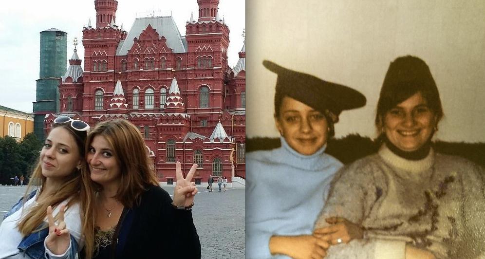Галина и её подруга Анюта.