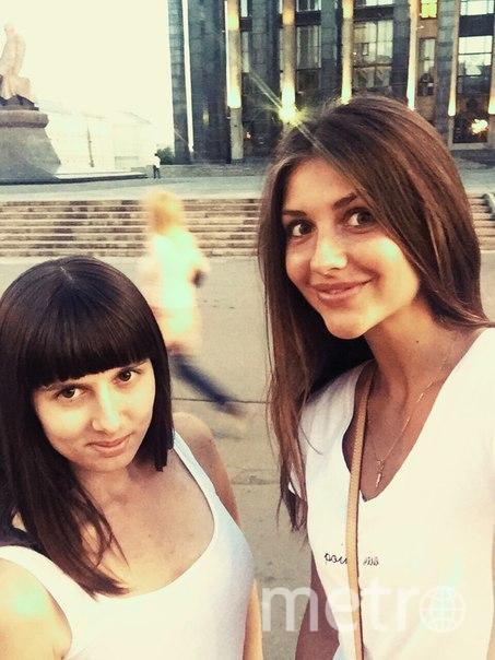 Алёна и её подруга Алина.