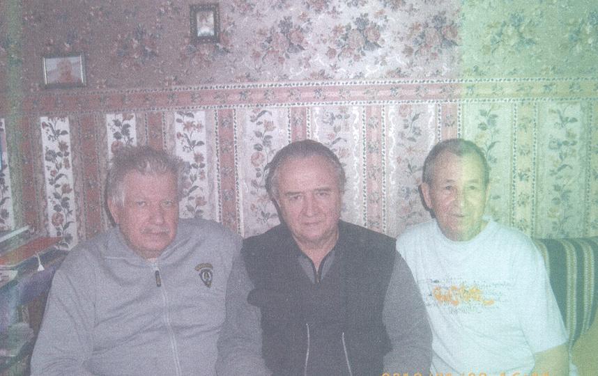 Кулинченко Вадим и его друзья Зубенко Иван Иванович и Иончиков Виктор Дмитриевич.