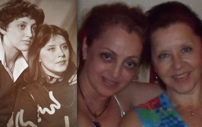 Ольга Силинская (Силя) и её подруга Татьяна Шумская (Шумка).