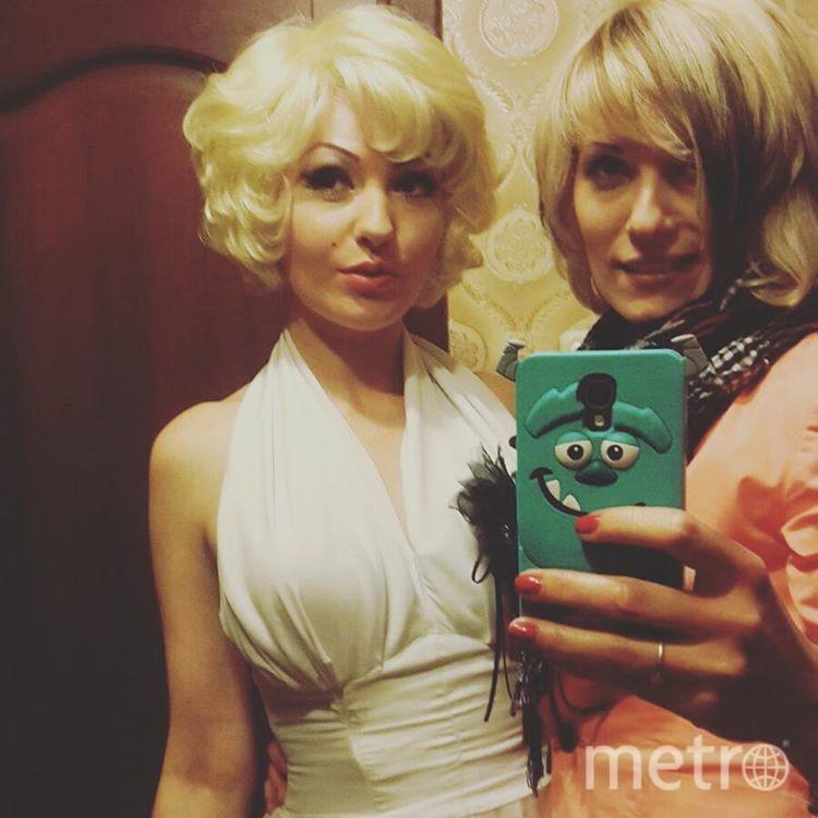 Монро и её подруга Екатерина.