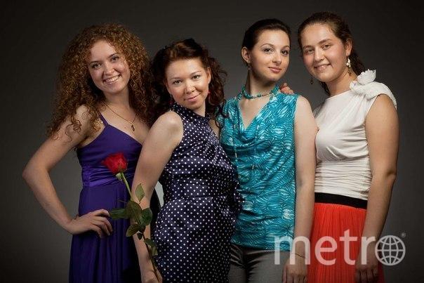 Диана и её подруги Сашуншуня, Королек и Катюшка.