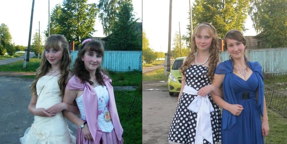 Евгения и её подруга Ирина.