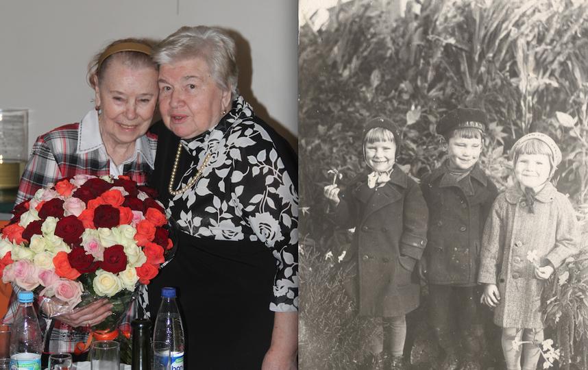 Тамара Александровна и её подруга Новелла Викторовна .