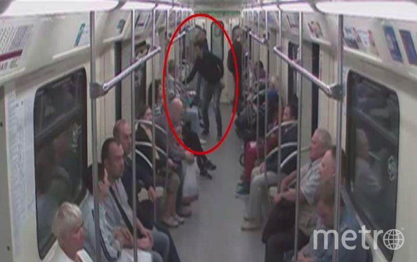 Предоставлено пресс-службой МВД на московском метрополитене.