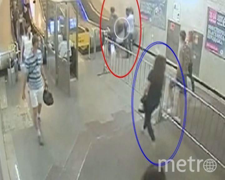Пресс-служба УВД Московского метро.
