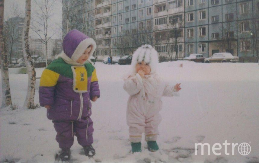 Анастасия Чкония и моя подруга Лилия Агаджанова.