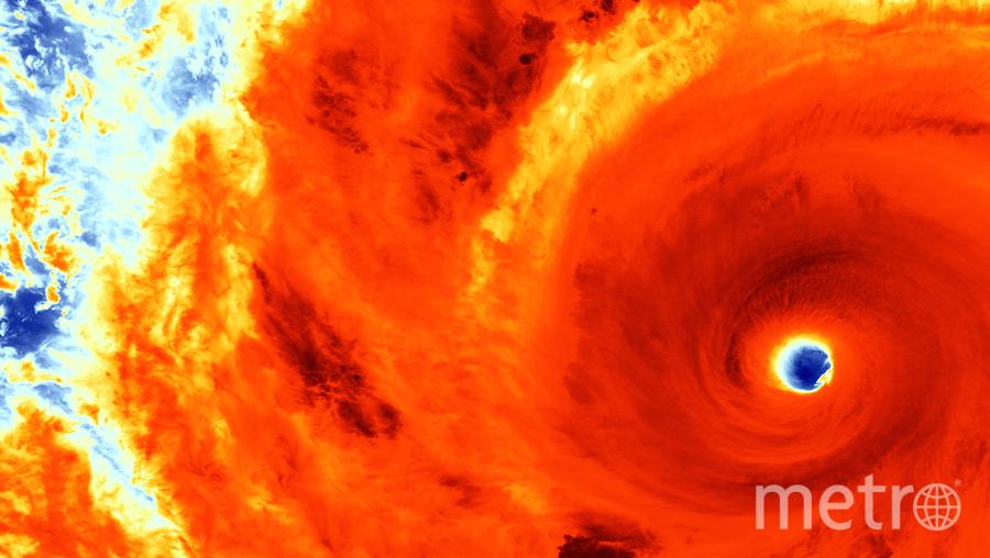 AFP PHOTO HANDOUT-NOAA.