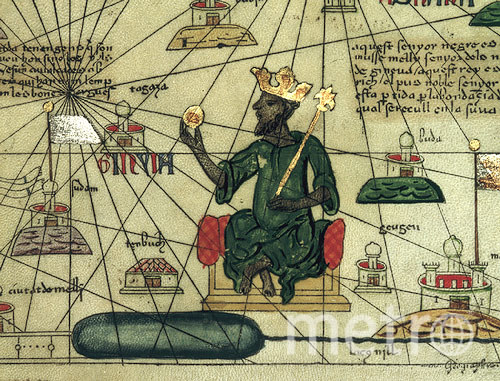 Wikipedia – Abraham Cresques of Mallorca – Catalan Atlas .