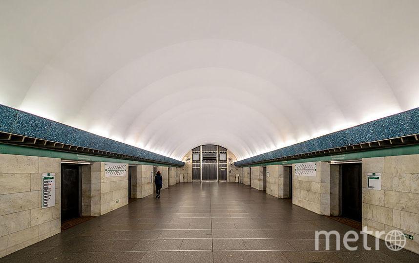 «Metro SPB Line3 Vasileostrovskaya» участника Alex Florstein /  Викисклад / https://commons.wikimedi.