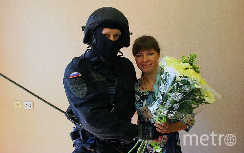 Пресс-служба ОМОНа.