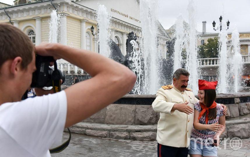 Анатолий Ротань в образе Иосифа Сталина.