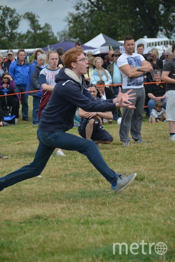 World Egg-Throwing Championships 2015.