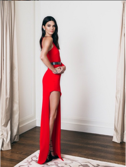 Instagram Kendall Jenner.