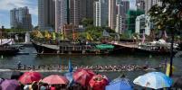 В Гонконге прошёл фестиваль драконьих лодок