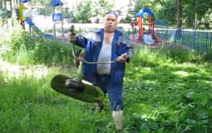 Скриншот видео Кондратьевой.