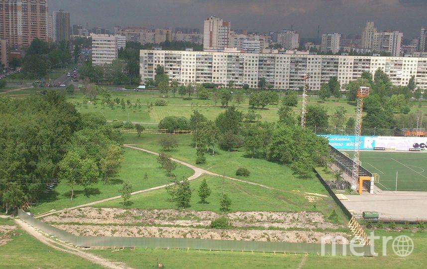"""Страница """"В защиту Муринского парка"""" """"ВКонтакте"""" (vk.com/public94651084)."""