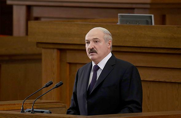 Сайт президента Белоруссии.