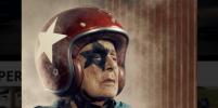 Фотограф заснял свою 96-летнюю бабушку в образе супергероя